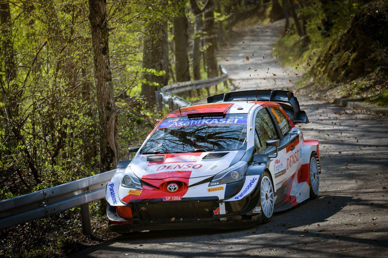 勝田貴元、WRC初開催のクロアチアで2度のステージウイン「走るごとに余裕を持てた」