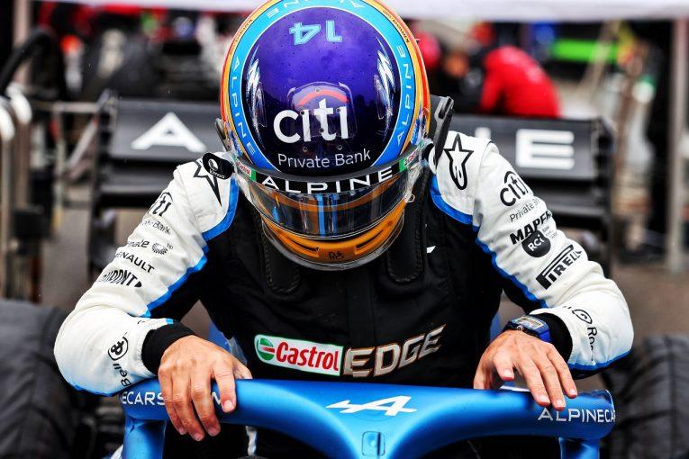 F1 | F1テスト短縮の影響で苦戦する移籍組「今の僕は本来のレベルに達していない」とアロンソ