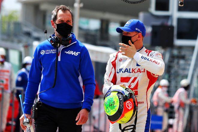 2021年F1第2戦エミリア・ロマーニャGP ミック・シューマッハー(ハース)