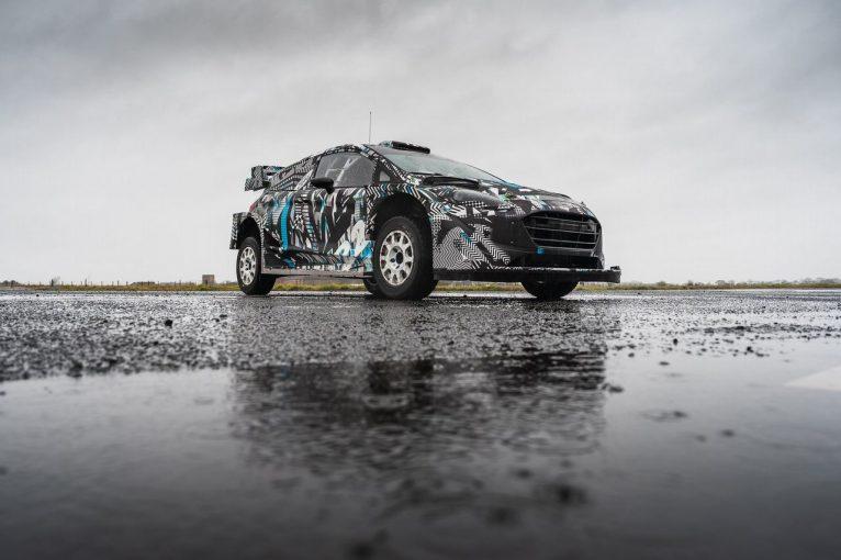 """ラリー/WRC   Mスポーツ・フォード、ハイブリッドを搭載した2022年の""""ラリー1""""車両を初公開"""