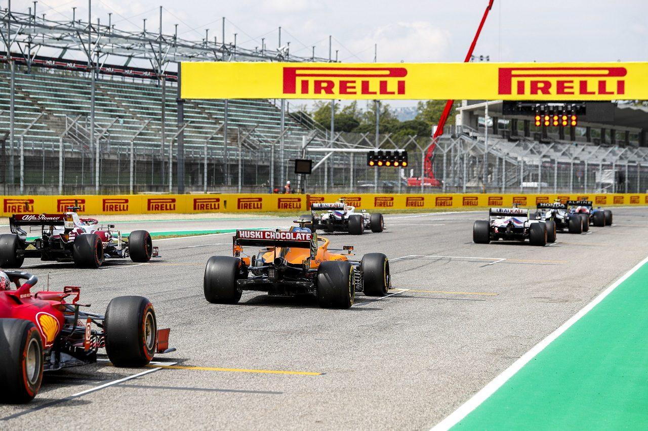 2021年F1第2戦エミリア・ロマーニャGP スタート練習