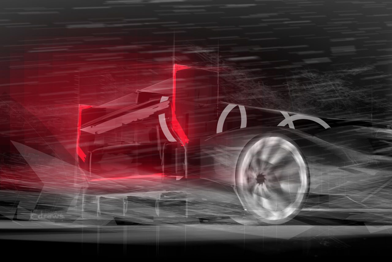 アウディがLMDh車両イメージを初公開。2022年初頭の登場、23年デイトナデビューを目指す
