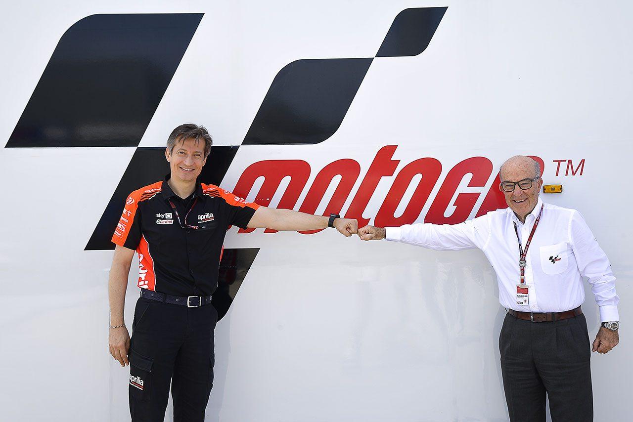 アプリリア、2022年からファクトリー体制でMotoGPに参戦。グレシーニ・レーシングとは契約終了