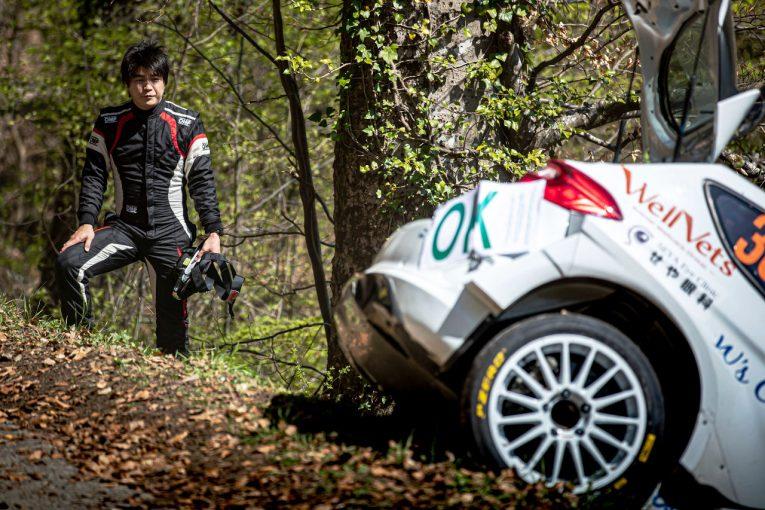 ラリー/WRC   新井大輝、WRCクロアチアでのアクシデントで脊椎を骨折したことをSNSで報告