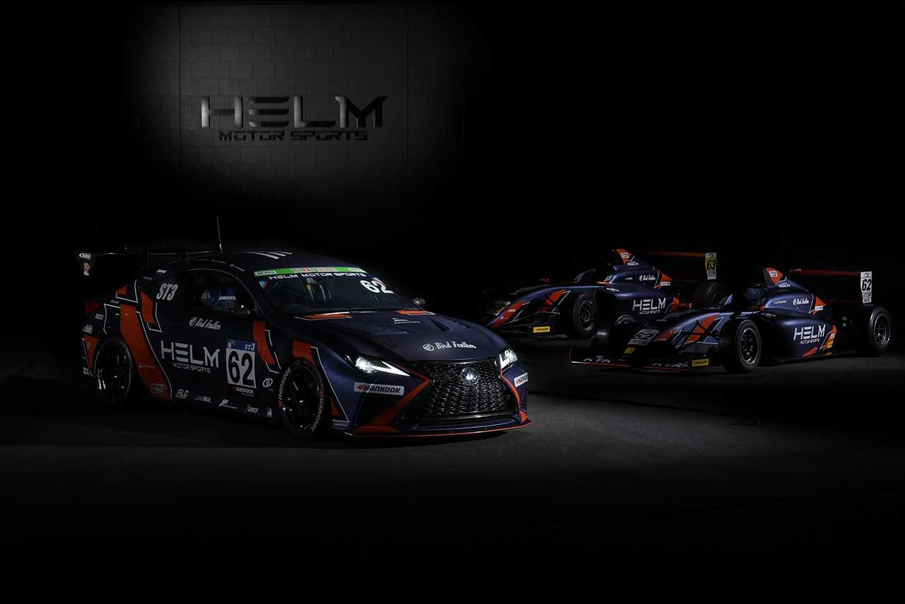 スーパー耐久とFIA-F4に参戦するHELM MOTORSPORTS