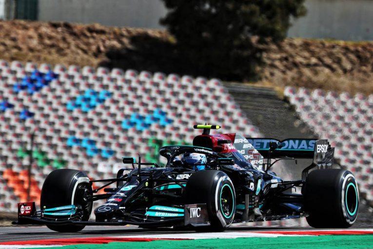 F1   ポルトガルGP FP1:ボッタスが首位。レッドブル・ホンダが2-3番手、ガスリーが6番手に続く