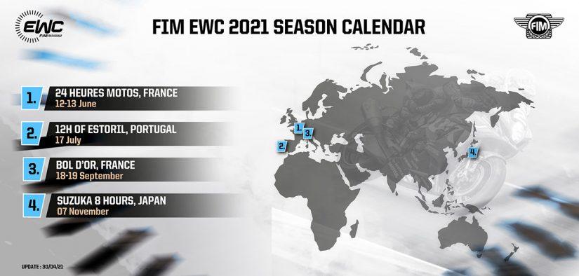 MotoGP | EWC、オッシャースレーベン8時間の中止で全4戦に減少。鈴鹿8耐は最終戦に