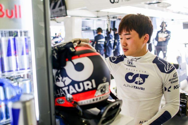 F1   角田裕毅、初のコースで習熟深める「スピーディーに適応。予選に向けペースを上げる」アルファタウリ・ホンダ/F1第3戦金曜