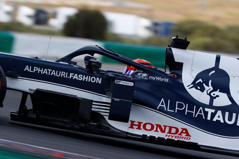 F1 | 【角田裕毅F1第3戦密着】「直すべきところもある」と臨んだ初走行のポルトガル。ミスから学び、初日は61周を走行