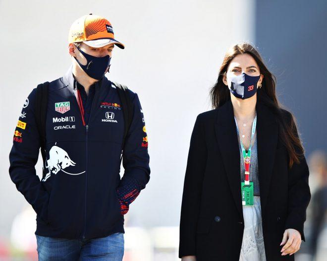 2021年F1第3戦ポルトガルGP マックス・フェルスタッペン(レッドブル・ホンダ)とガールフレンドのケリー・ピケ