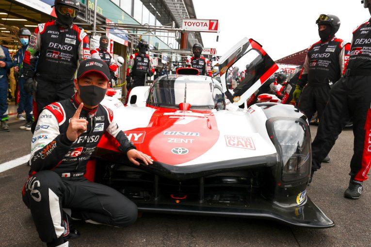 ル・マン/WEC | トヨタの新型ハイパーカーが初予選で1-2。ポール獲得の小林可夢偉「本当に誇りに思う」/WECスパ