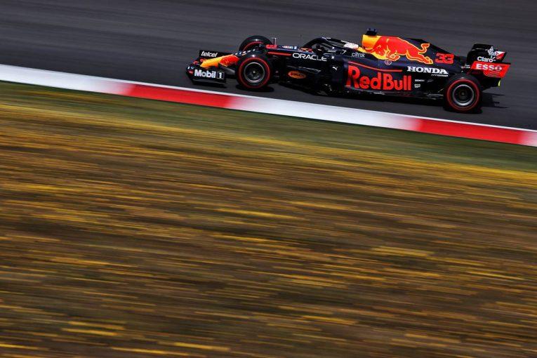 F1 | フェルスタッペンがトップタイム。角田裕毅は11番手【タイム結果】F1第3戦ポルトガルGPフリー走行3回目