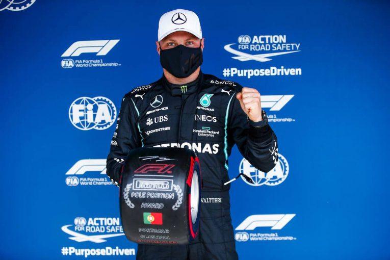 F1   ボッタスが今季初ポール。トラックリミット違反で最速タイム抹消も、フェルスタッペンは3番手【予選レポート/F1第3戦】