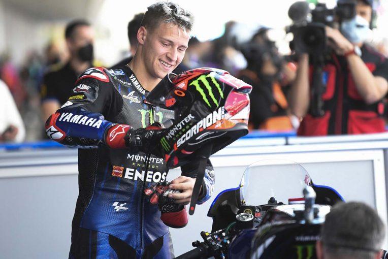 MotoGP | MotoGP第4戦スペインGP:マルク・マルケス大クラッシュの予選日、クアルタラロがポール獲得。中上は2列目に並ぶ