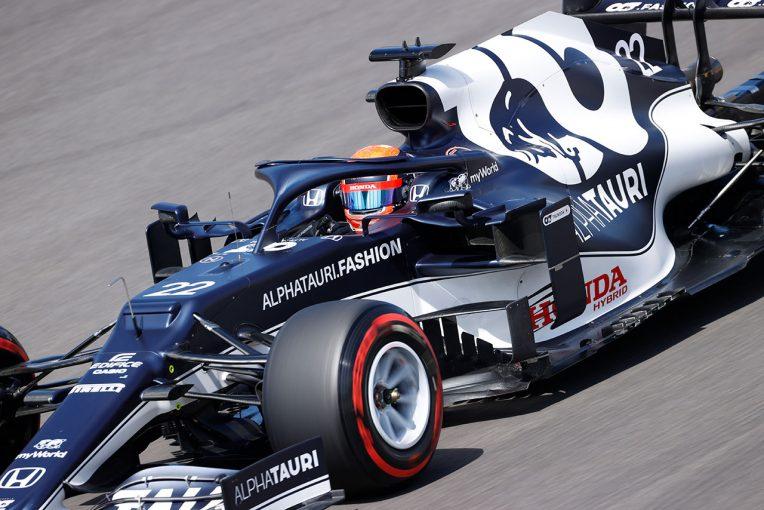 F1 | 【角田裕毅F1第3戦密着】改善されない低グリップ路面で奮闘「課題はあるが、それほど悪い予選ではなかった」