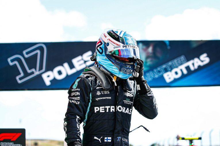 F1 | メルセデス代表も称賛。苦しんだボッタスが巻き返しのポール「予選の弱点を徹底的に修正。努力は必ず報われる/F1第3戦