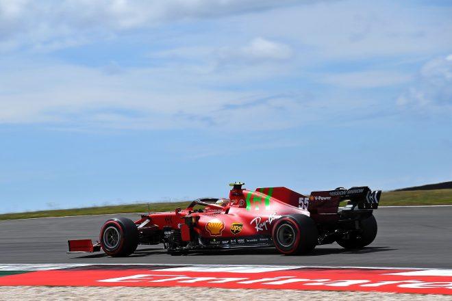 2021年F1第3戦ポルトガルGP カルロス・サインツJr.(フェラーリ)