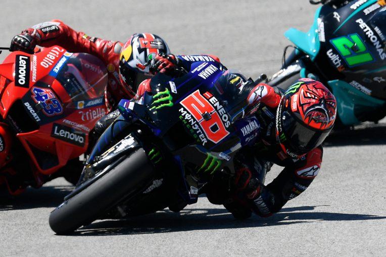 MotoGP | クアルタラロ、失速の原因は腕上がり「突然、右腕の感覚がなくなった」/MotoGP第4戦スペインGP