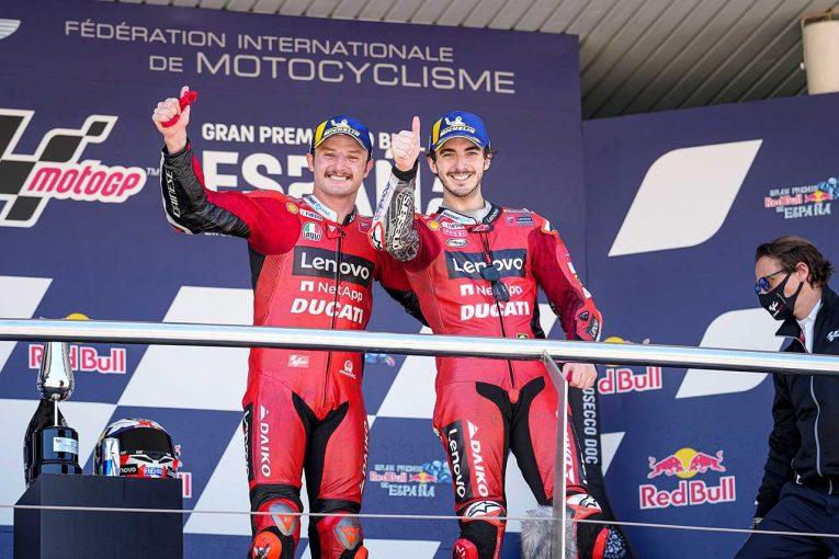 MotoGP | MotoGP第4戦スペインGP:ドゥカティのミラーが5年ぶりの優勝。中上は今季自己最上位フィニッシュ果たす