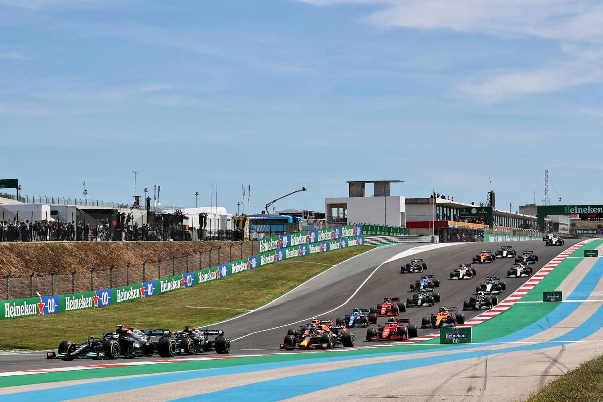 2021年F1第3戦ポルトガルGP スタートシーン