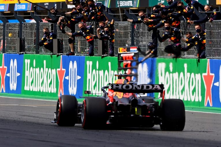 F1   ホンダが今季3戦連続表彰台「勝ちたかったのが本音だが、タイトル争いにおいて大きな意味がある2位」と田辺TD/F1第3戦