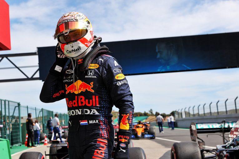 F1 | フェルスタッペン2位「ルイスと戦えるペースはなかった。最速ラップが奪われたのも残念」レッドブル・ホンダ/F1第3戦