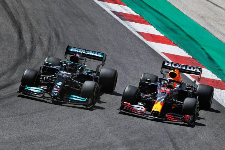 F1 | レッドブル・ホンダ密着:またも最速ラップを逃したフェルスタッペン。自らのミスでハミルトンに逆転のチャンスを許す