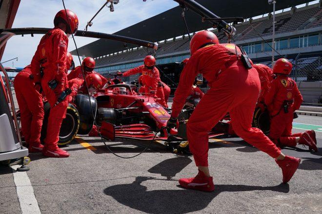 2021年F1第3戦ポルトガルGP シャルル・ルクレール(フェラーリ)