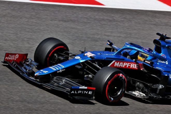 2021年F1第3戦ポルトガルGP フェルナンド・アロンソ(アルピーヌ)