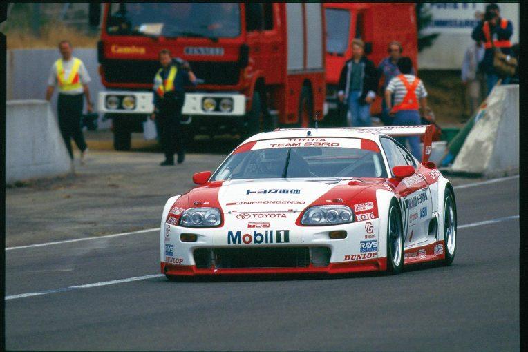 レーシングオン | 【忘れがたき銘車たち】スープラがル・マン24時間で見た現実『トヨタ・スープラ LM GT』