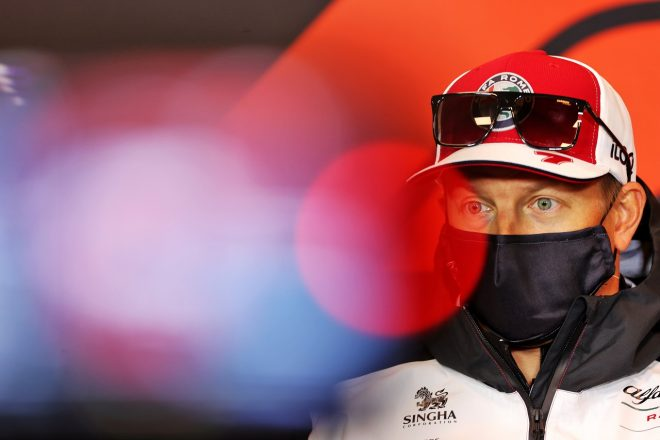 2021年F1第2戦エミリア・ロマーニャGP キミ・ライコネン(アルファロメオ)