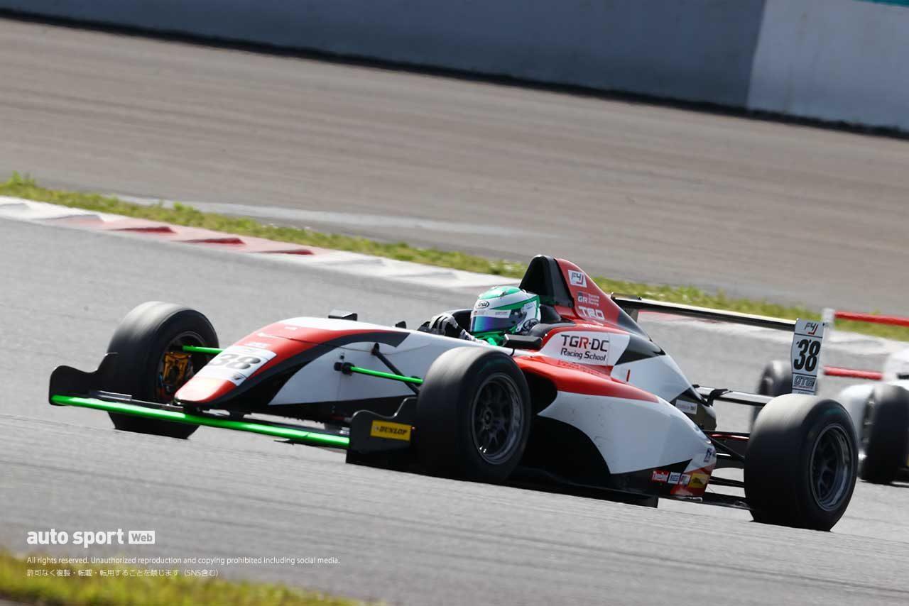 2021年FIA-F4 第2戦富士で3位を獲得した清水英志郎(TGR-DC RS フィールドF4)