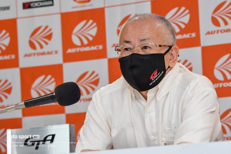 スーパーGT | GTA坂東正明代表がスーパーGTのカーボンニュートラル化を語る。第1歩として2024年からのe-fuel導入を示唆