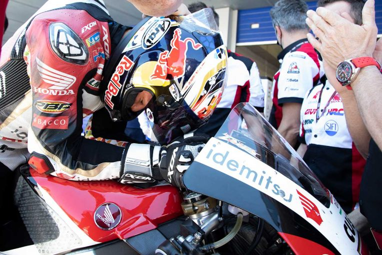 MotoGP   【レースフォーカス】自己ベストリザルト4位の中上、取り戻した速さが生んだ複雑な感情/MotoGP第4戦スペインGP