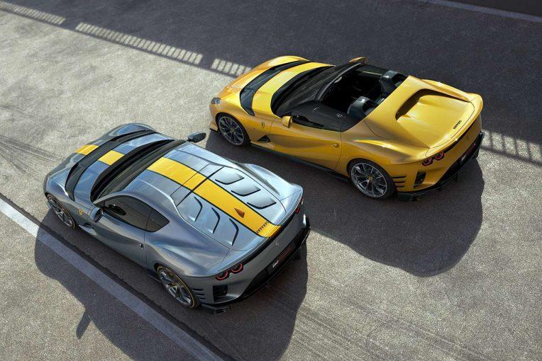 クルマ | フェラーリ、最新限定モデル『812コンペティツィオーネ』『812コンペティツィオーネA』発表