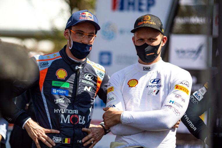 ラリー/WRC   タナクとヌービルがヒュンダイとの契約を延長。ともに複数年契約結ぶ/WRC
