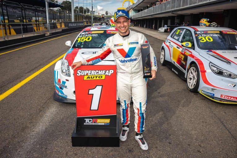 海外レース他 | TCRオーストラリア第4戦は、スーパーカー経験者のカルーソがアルファロメオで初勝利