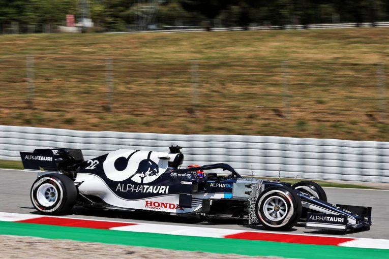 F1 | アルファタウリ・ホンダの角田裕毅は11番手【タイム結果】F1第4戦スペインGPフリー走行1回目