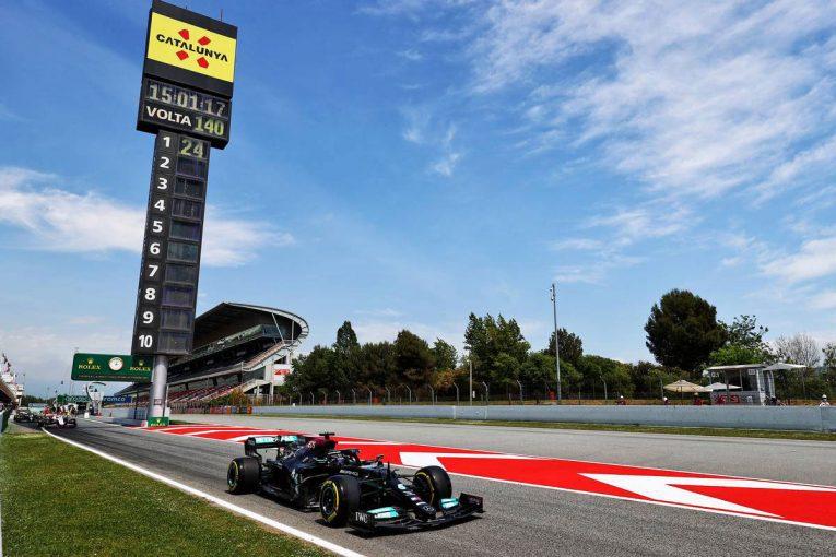 F1 | スペインGP FP2:初日はメルセデス勢が最速、好調アルピーヌが上位に。レッドブル・ホンダは9&10番手
