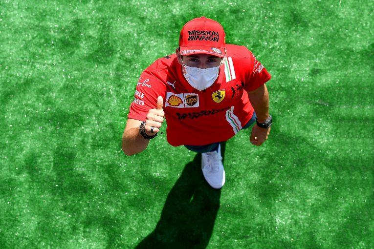 F1 | ルクレール初日3番手「アプローチを変えて好調。メルセデス&レッドブルのすぐ後ろを狙う」フェラーリ/F1第4戦