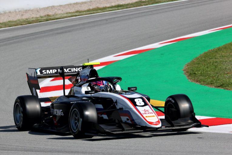 海外レース他 | スモリヤーが優勝。岩佐歩夢は5台抜くも入賞ならず【FIA-F3第1戦スペイン レース1】