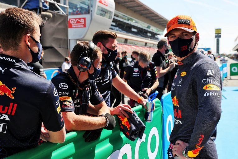 F1   フェルスタッペン0.036秒差の予選2番手「Q1で苦労したが改善。好スタートで前に出たい」レッドブル・ホンダ/F1第4戦