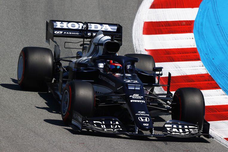 F1   【角田裕毅F1第4戦密着】混戦の中団。わずかの差が順位を左右しQ2進出ならず「ペースはそこまで悪くなかった」