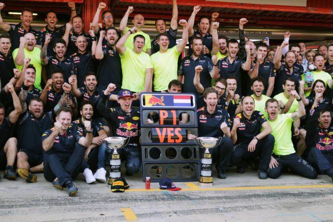 2016年F1第5戦スペインGP マックス・フェルスタッペン(レッドブル)
