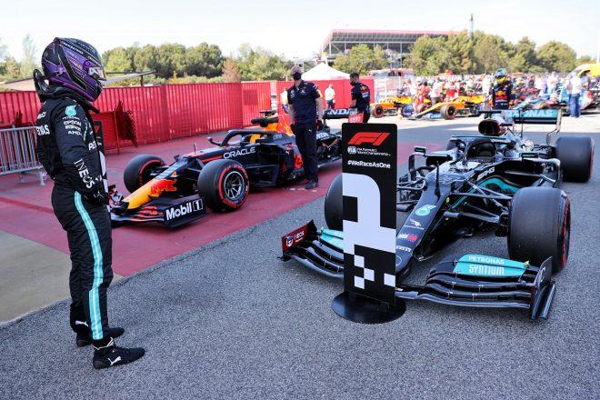 2021年F1第4戦スペインGP ルイス・ハミルトン(メルセデス)がF1キャリア100回目のポールポジションを獲得