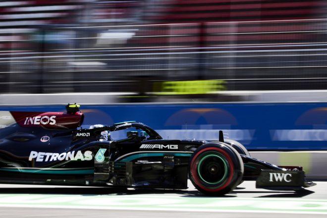 2021年F1第4戦スペインGP バルテリ・ボッタス(メルセデス)