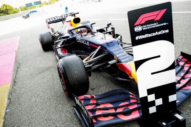 2021年F1第4戦スペインGP マックス・フェルスタッペン(レッドブル・ホンダ)が2位を獲得