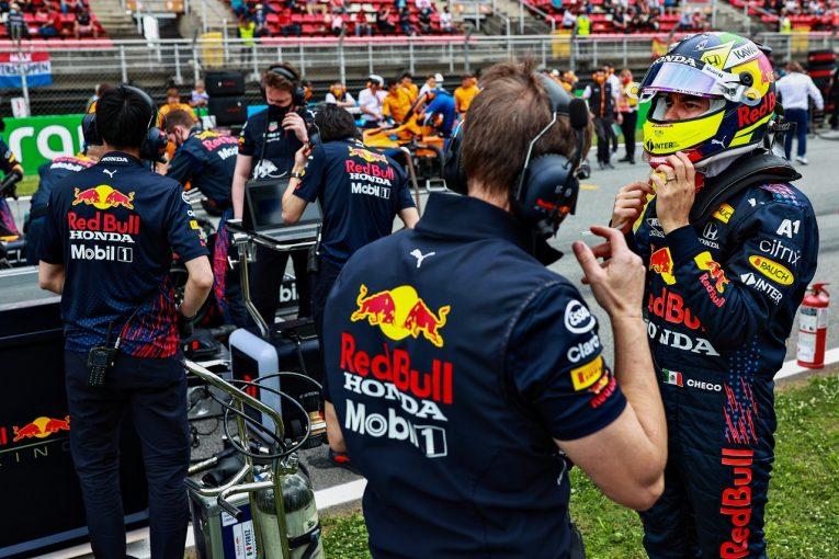 F1   ペレス、抜けないバルセロナで8番手から5位「マクラーレンはとてつもなく速くて苦労した」レッドブル・ホンダ/F1第4戦
