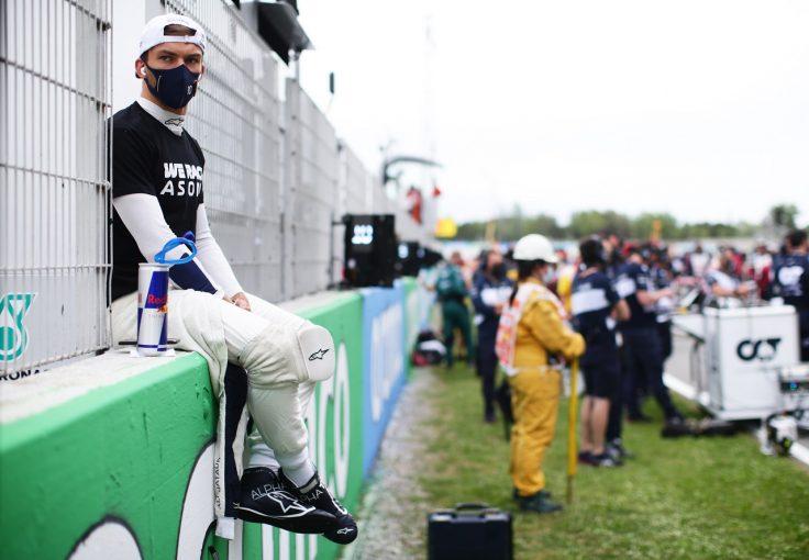 F1 | ガスリー5秒ペナルティも10位「自分に腹が立つ。小さなミスでポイントを失った」アルファタウリ・ホンダ/F1第4戦