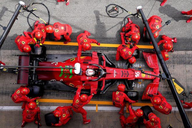 2021年F1第4戦スペインGP シャルル・ルクレール(フェラーリ)